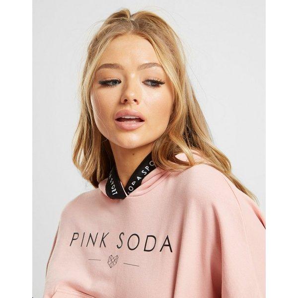 Pink Soda Sport Tape Overhead Hoodie