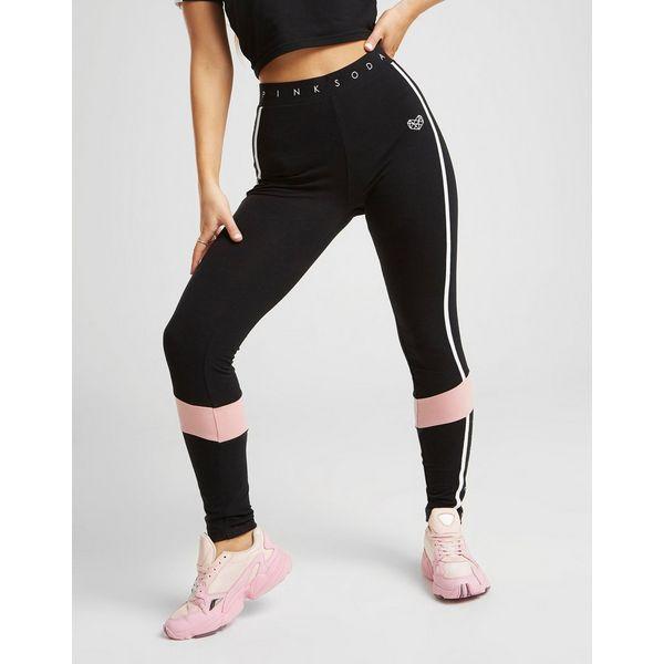 Pink Soda Sport Colour Block Tights