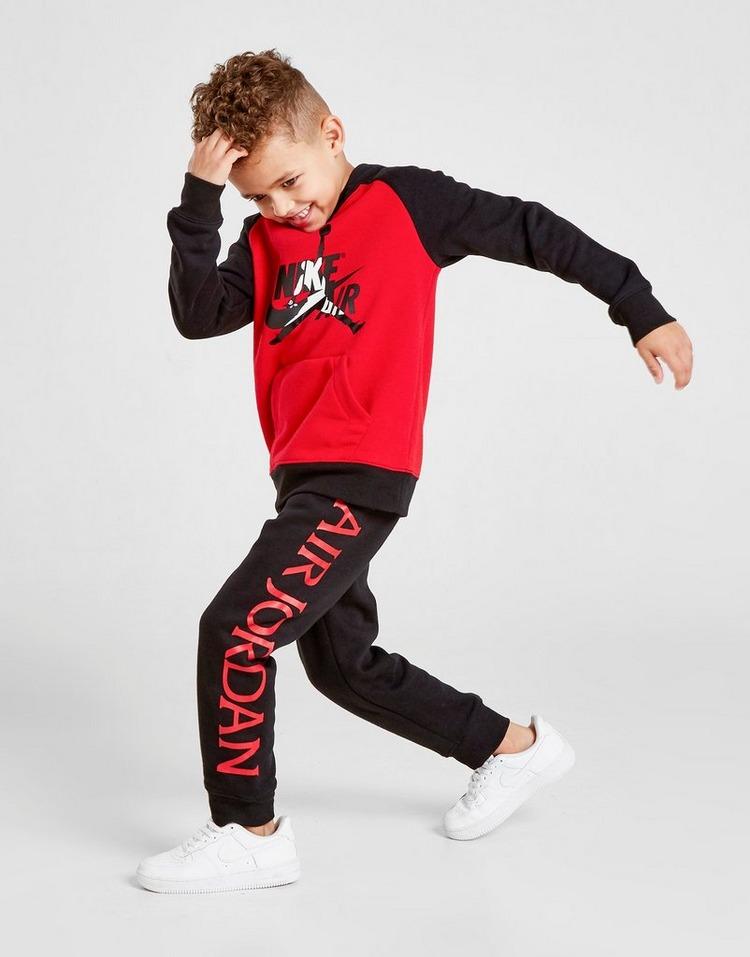 Jordan Jumpman Overhead Hoodie Tracksuit Children