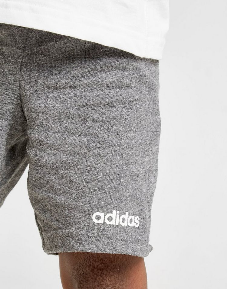 adidas conjunto camiseta/pantalón corto Linear para bebé