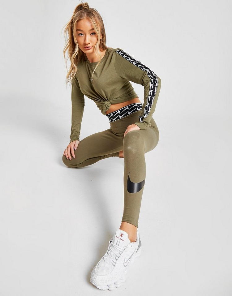 Nike Double Swoosh Logo Leggings