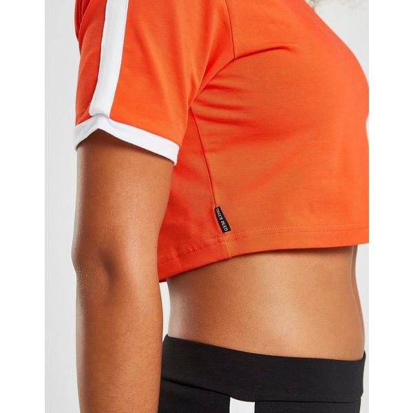 Gym King Crop Ringer T-Shirt