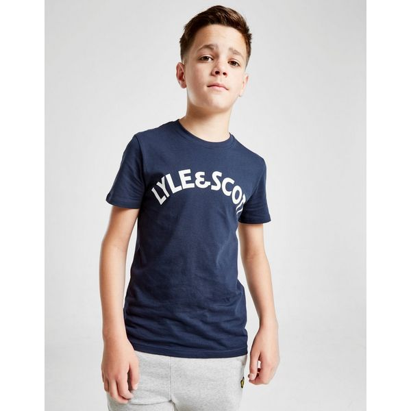 Lyle & Scott Block Logo T-Shirt Junior