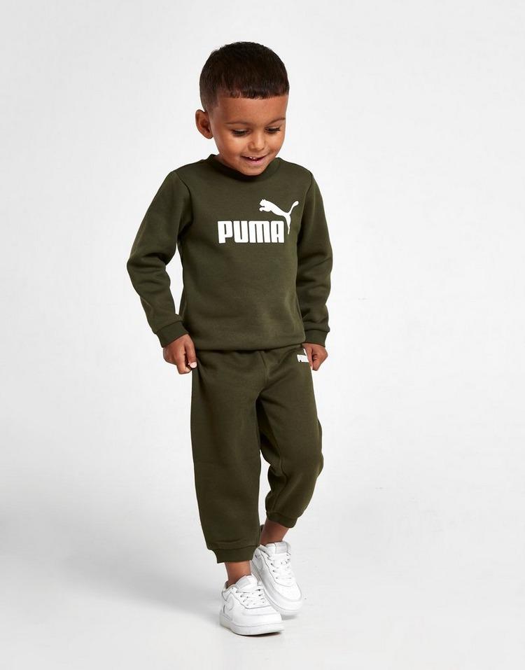 PUMA Logo Crew Suit Infant