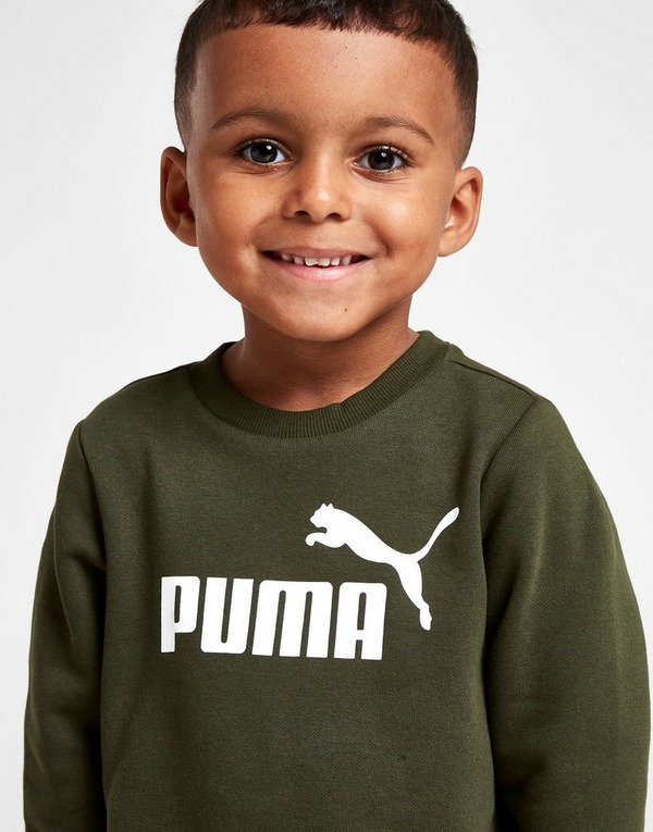 PUMA Logo Crew Suit Infant