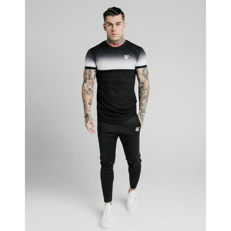 SikSilk camiseta Fade Panel
