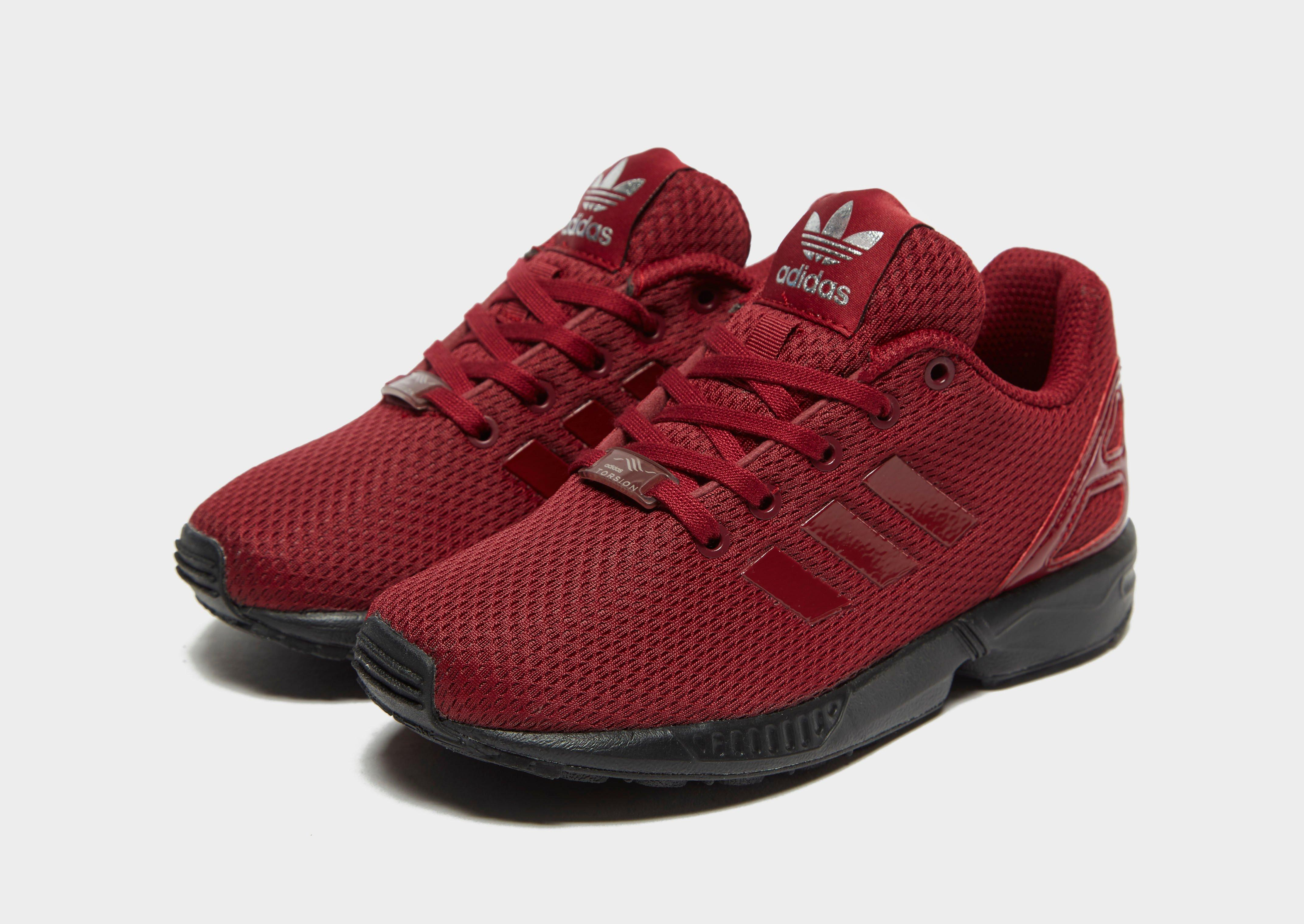 Adidas Zx Flux Red Prism wallbank lfc.co.uk