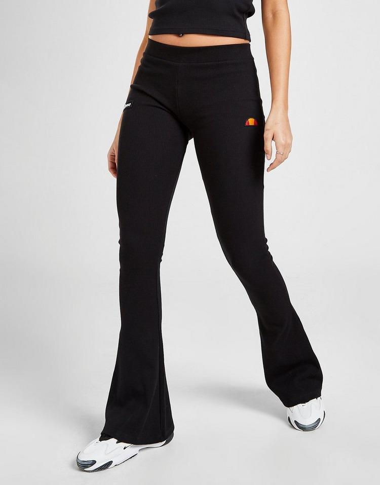Ellesse Pantalon Logo Rib Flared Femme
