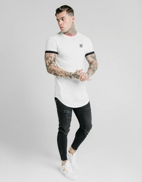 SikSilk Tech Rib T-Shirt