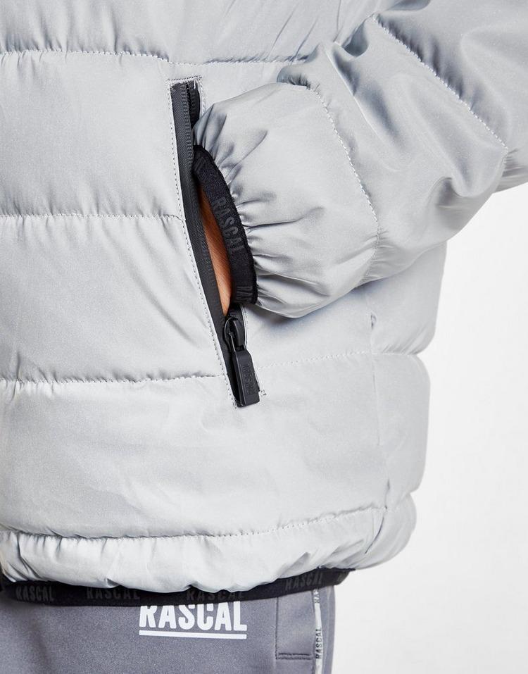 Rascal Galaxy Reflective Puffa Jacket Junior