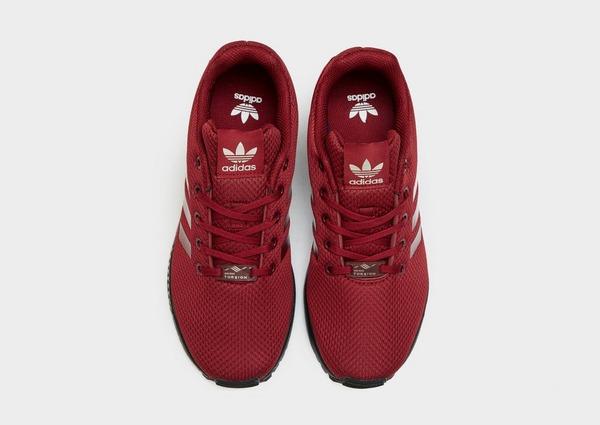 Buy Red adidas Originals ZX Flux Junior | JD Sports
