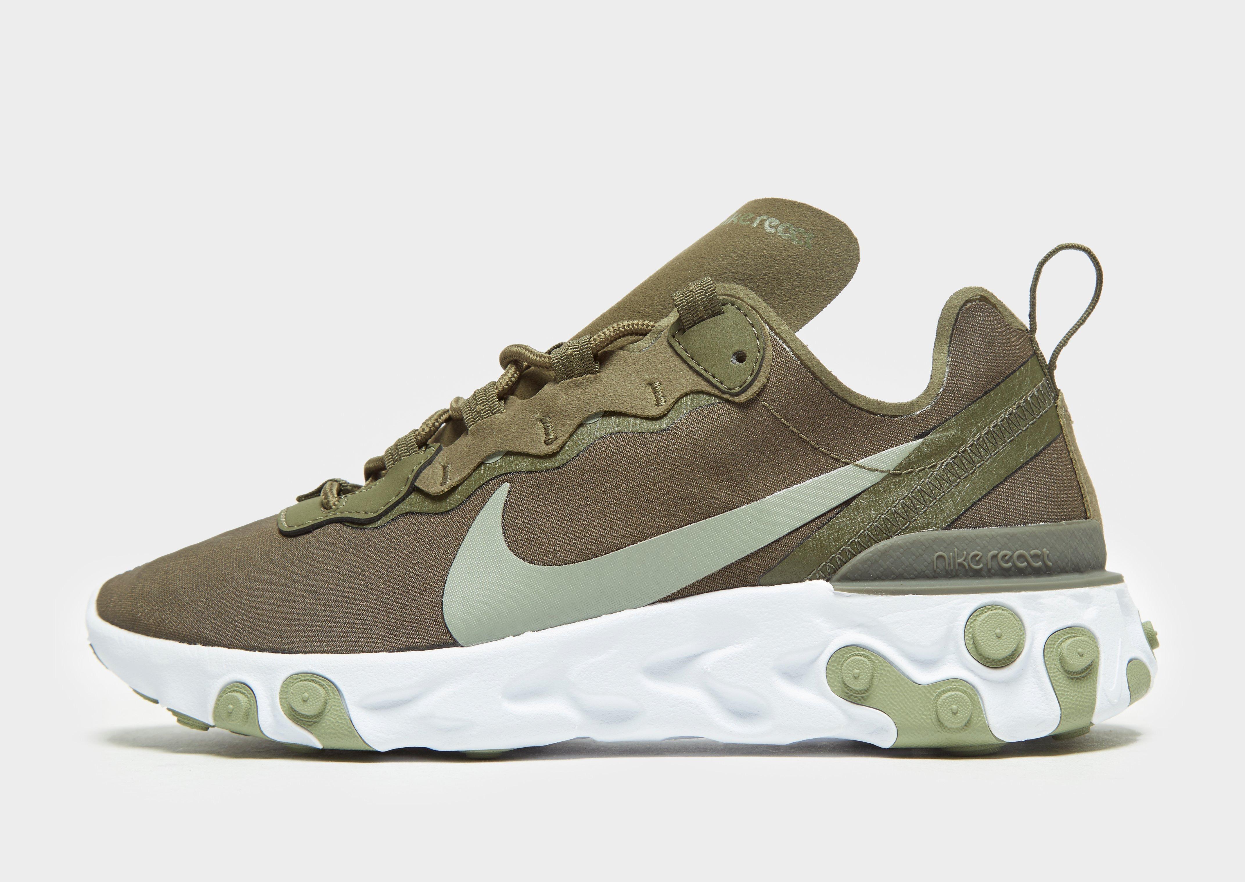Nike Air Max 90 Herresko Camouflage Grøn Bund :