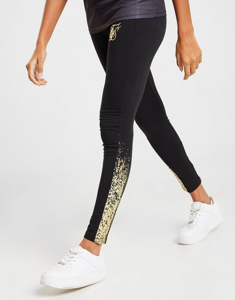 SikSilk Gold Fade Leggings