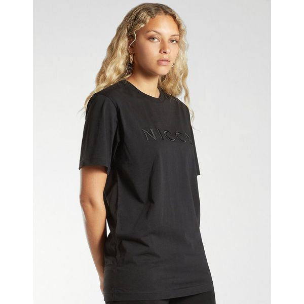Nicce Logo Embroidered T-Shirt