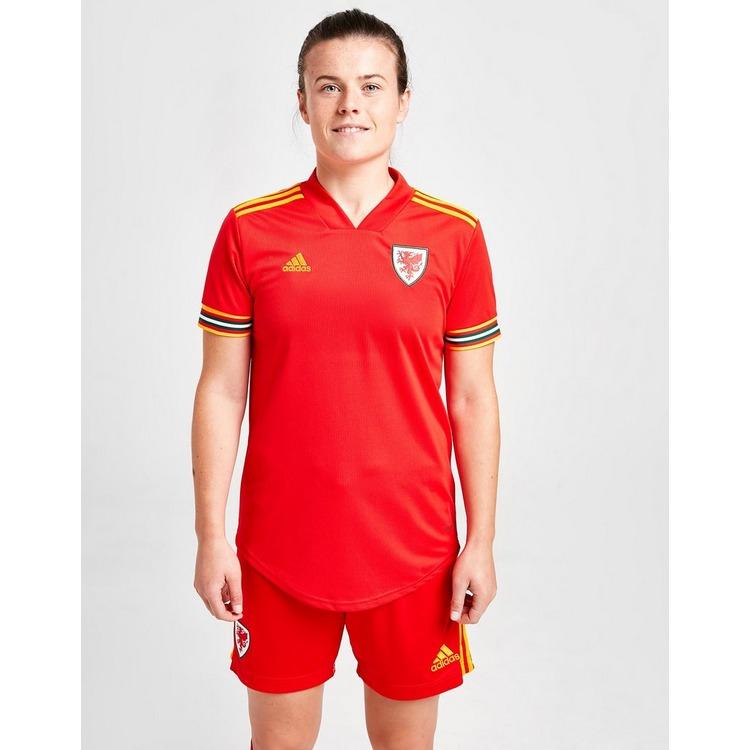 adidas Wales 2020 Home Shirt Women's