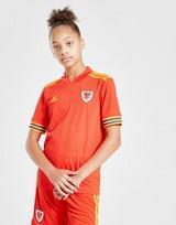 adidas Wales 2020 Home Shirt Junior
