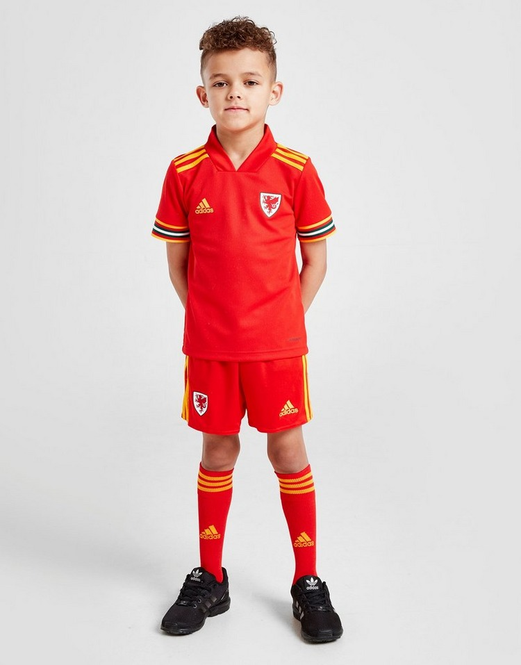 adidas Wales 2020 Home Kit Children