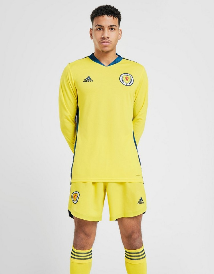 adidas Scotland 2020 Home Goalkeeper Shirt