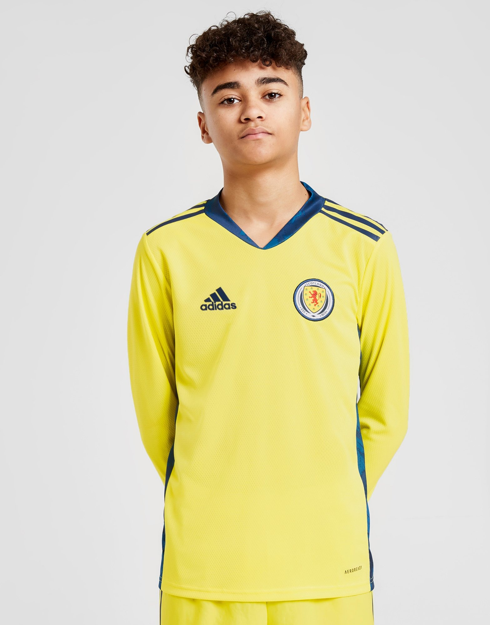 adidas Camisola de Guarda Redes do Equipamento Principal Scotland 2020 para Júnior | JD Sports