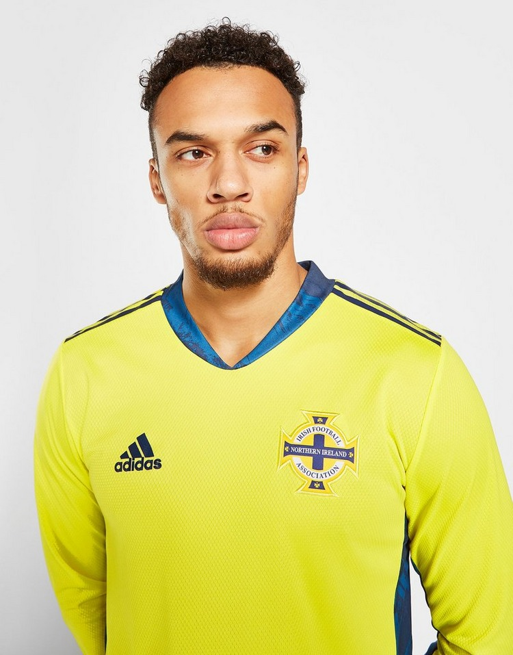 adidas Northern Ireland 2020 Home Goalkeeper Shirt