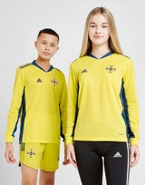 adidas Northern Ireland 2020 Home Goalkeeper Shirt Junior