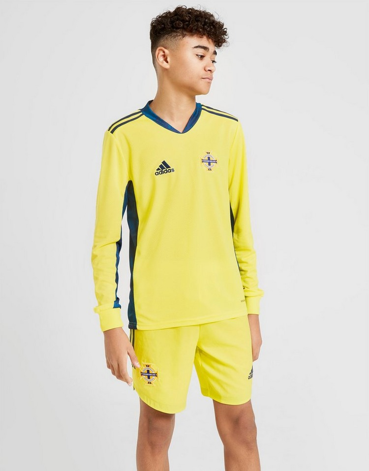 adidas Northern Ireland 2020 Goalkeeper Shorts Junior