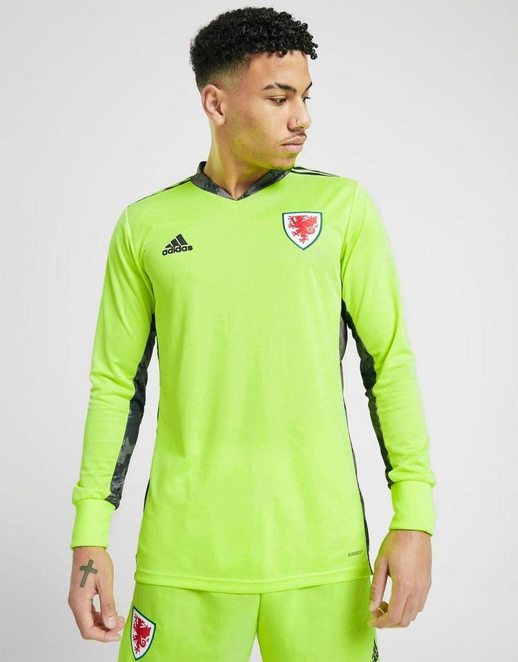 adidas Wales 2020 Home Goalkeeper Shirt