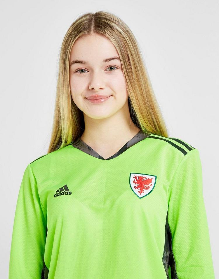 adidas Wales 2020 Goalkeeper Shirt Junior