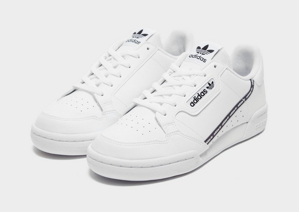 Acherter Blanc adidas Originals Continental 80 Junior | JD ...