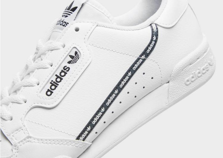 Buy White adidas Originals Continental 80 Junior | JD Sports