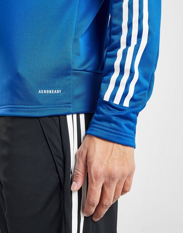 Koop Blauw adidas Long Sleeve Tape T Shirt Dames | JD Sports