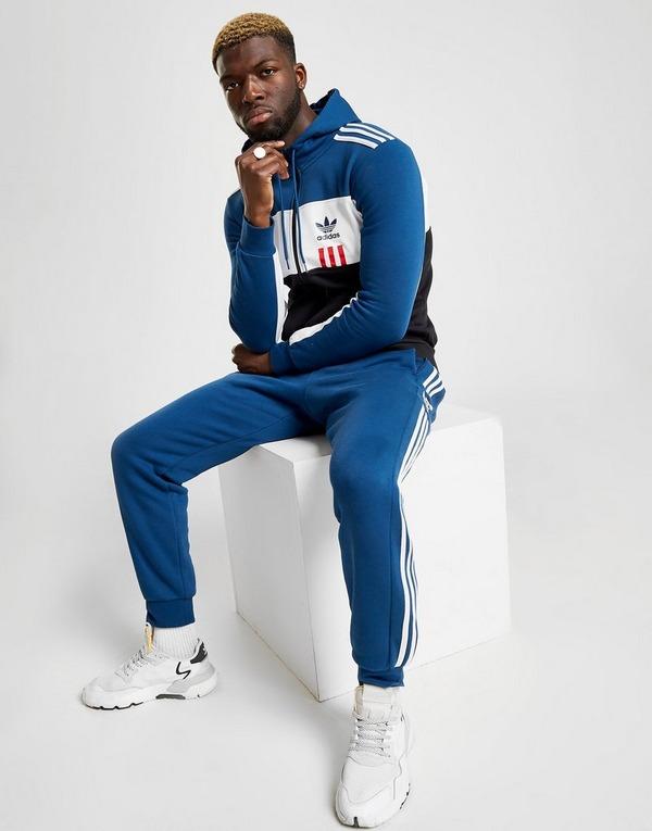 Acheter Blue adidas Originals Sweat à capuche ID96 Zippé
