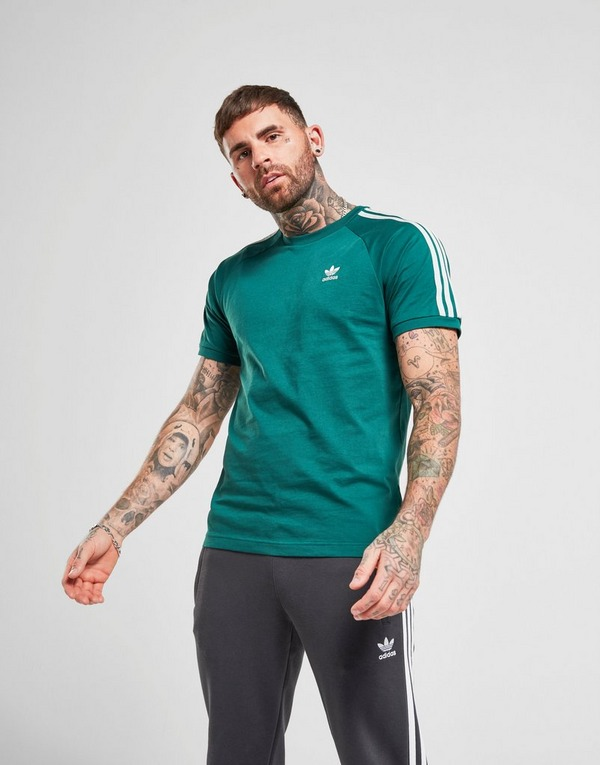 adidas Originals camiseta 3 Stripes California | JD Sports
