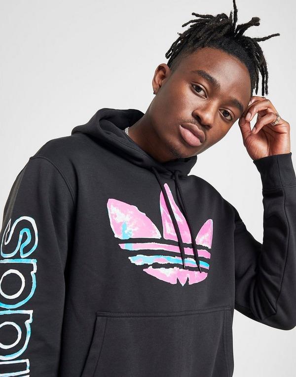 Køb adidas Originals Watercolour Hoodie i Sort   JD Sports