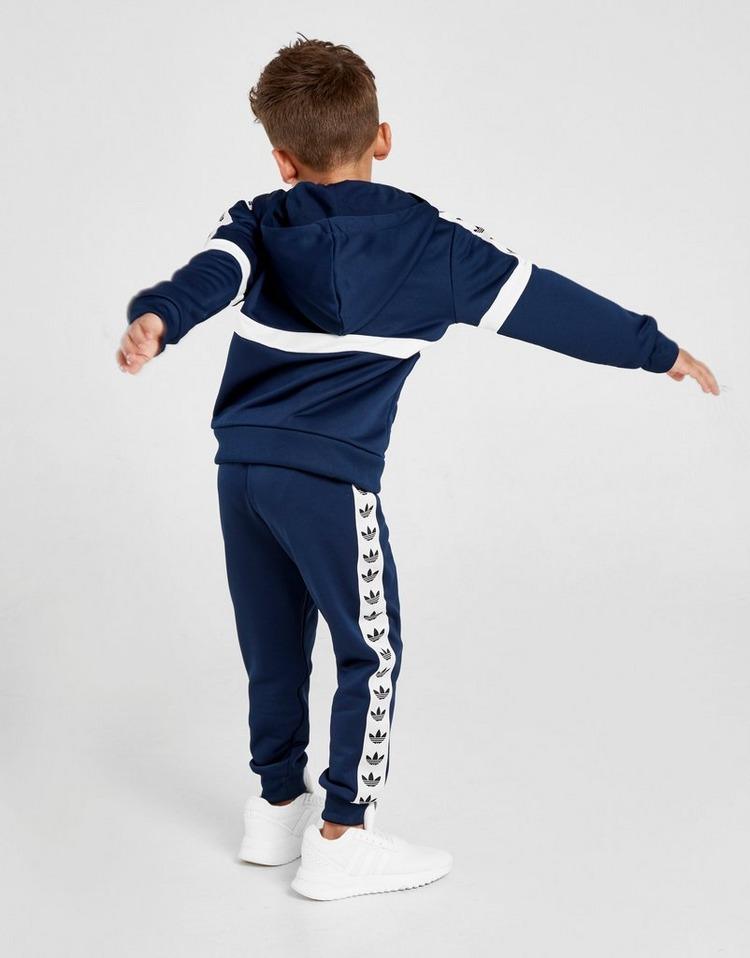 adidas Originals Itasca Tape 1/4 Zip Tracksuit Children