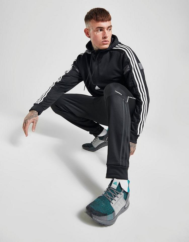 adidas Sweat à capuche Match 1/2 Zippé Homme