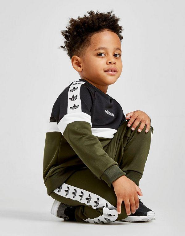 adidas Originals Itasca Tape Crew Tracksuit Infant
