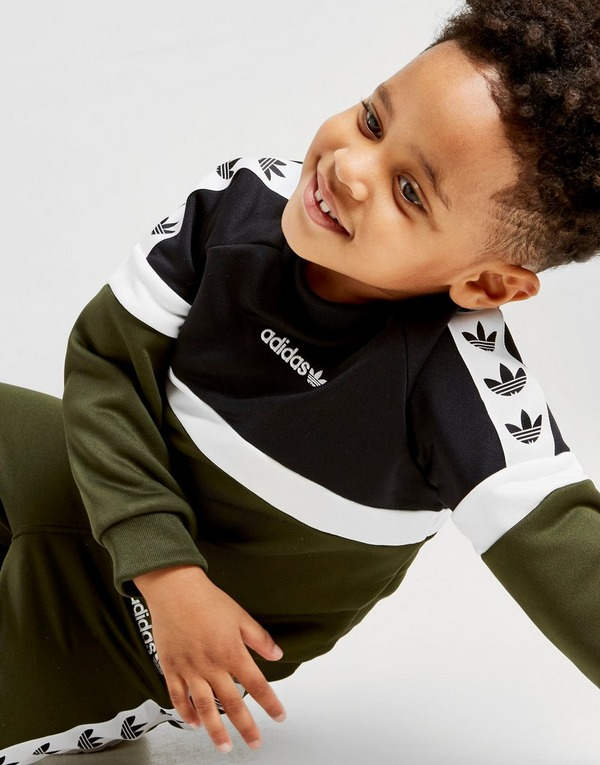 adidas Originals Itasca Tape Crew Tracksuit Infant | JD Sports