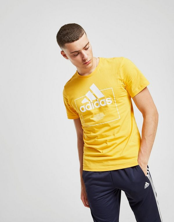 adidas Badge Of Sport Box Logo T-Shirt