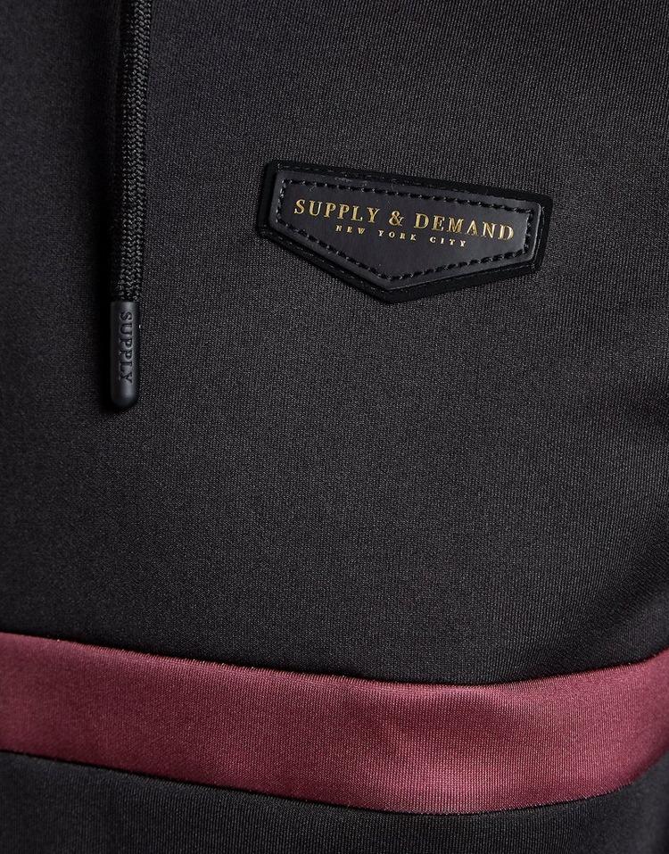 Supply & Demand Roller Fade Zip Through Hoodie