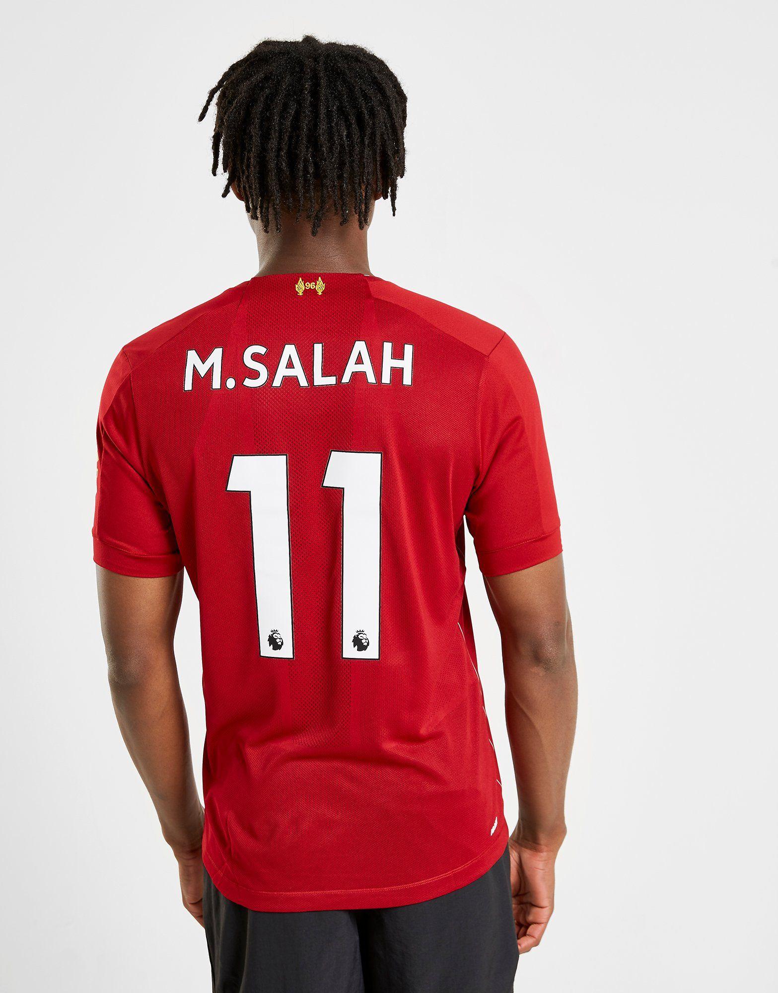 meet 72a0d 832cd New Balance Liverpool FC 2019/20 Salah #11 Home Shirt | JD Sports