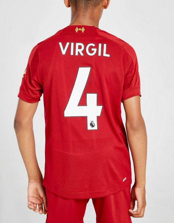 purchase cheap 27a28 63fe6 New Balance Liverpool FC 2019/20 Virgil #4 Home Shirt Junior ...