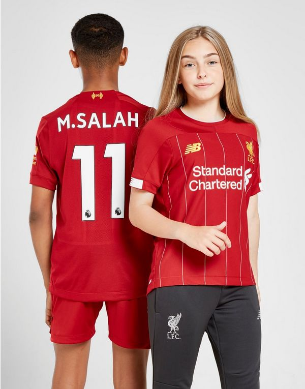f0138ccfd New Balance Liverpool FC 2019/20 Salah #11 Home Shirt Junior | JD Sports