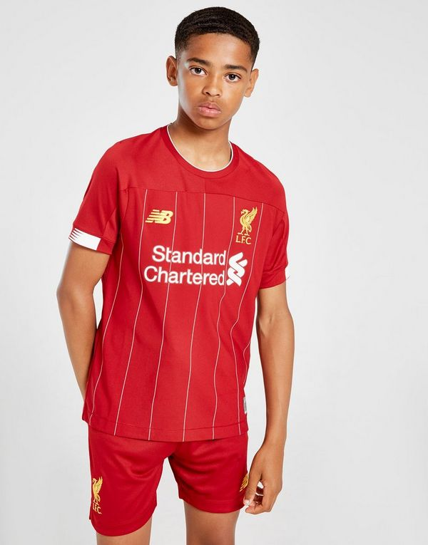 save off 7f2e4 b2bfc New Balance Liverpool FC 2019/20 Firmino #9 Home Shirt ...