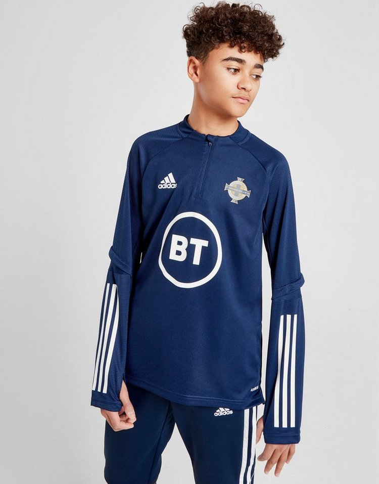 adidas Northern Ireland Condivo 20 1/2 Zip Top Junior