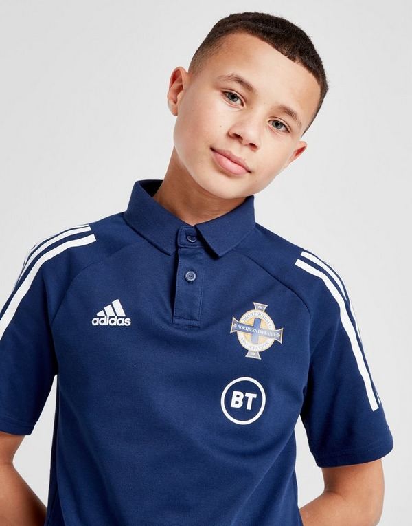 adidas Northern Ireland Condivo 20 Polo Shirt Junior