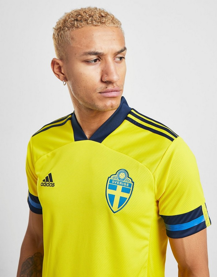 adidas Sweden 2020 Home Shirt