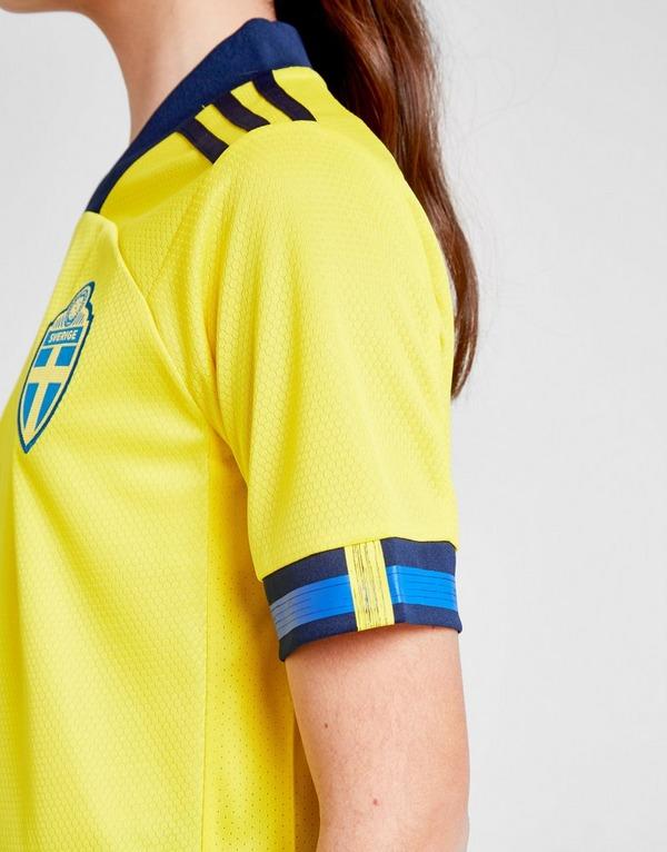 Shoppa adidas Sverige 2020 Hemmatröja Junior i en Gul färg
