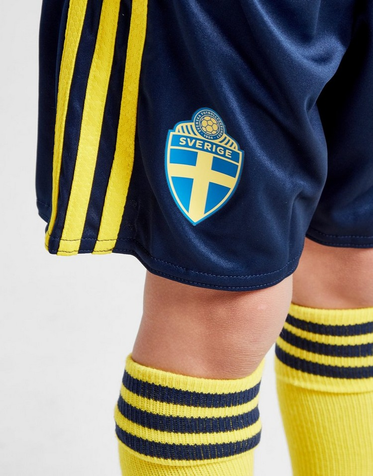 adidas Sweden 2020 Home Kit Children