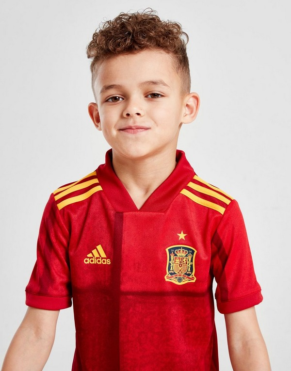 adidas Spain 2020 Home Kit Children